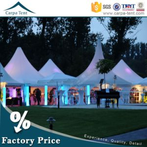 Reasonable Price Romantic Style Window Large Size 6m*6m Wind Resistant PVC Pagoda Tents / Grow Tent pictures & photos