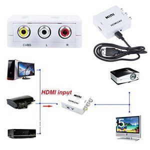 HDMI to Composite AV RCA Converter pictures & photos