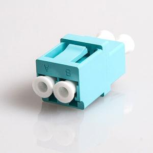 LC Duplex Fiber Optic Adapter Blue/Beige/Aqua pictures & photos