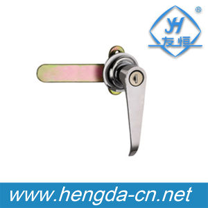 T Handle Latch Metal Cabinet L Handle Lock (YH9671) pictures & photos