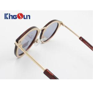 Plastic Rim Metal Rim by Screw Fashion Unisex Sunglasses Ks1150 pictures & photos