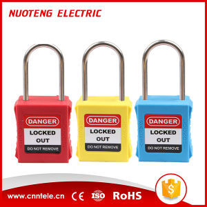 4mm Shackle 40mm Length Master Lock Safety Lockout Padlock pictures & photos