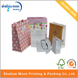 Customized Luxury Printing Paper Packing Bag (QYCI15115) pictures & photos