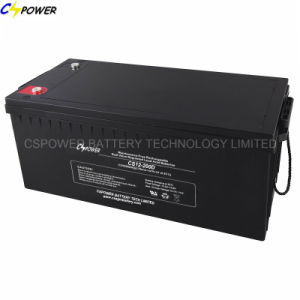 12V 180ah Sealed Lead Acid Battery for Golf Cart pictures & photos