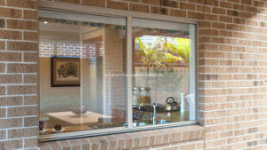 Hidden Frames Aluminium Sliding Windows with Tempered Glass pictures & photos