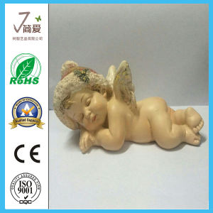 Lovely Polyresin Home Decoration Angel Figurine for Gifts pictures & photos
