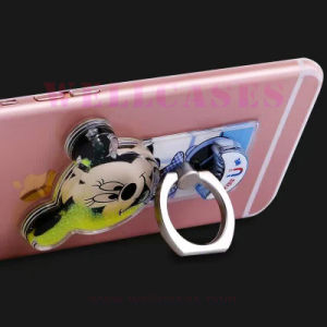 Mobile Phone Accessories Quicksand Mickey Mouse Ring Holder pictures & photos