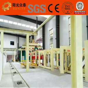 AAC Block/ Panel Production Line / AAC Block/ AAC Panel Production Line pictures & photos