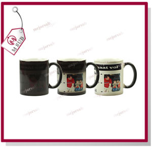 11oz Promotional Sublimation Color Changing Mugs for Gifts pictures & photos