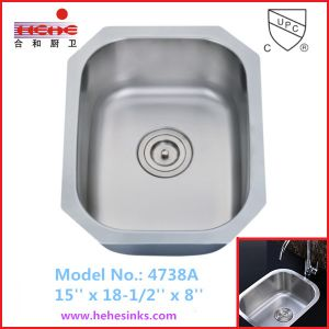 Stainless Steel Kitchen Sink, Bar Sink, Wash Hand Sink (4738) pictures & photos