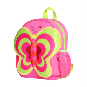 2016 New Fashion School Backpack with Butterfly Shape for Kids Travel, Sports, Shopping Handbags