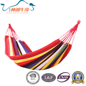 Canvas Cotton Parachute Hammock for Camping pictures & photos