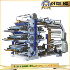 6-Color Flexographic Printing Machine (YT-6600) pictures & photos