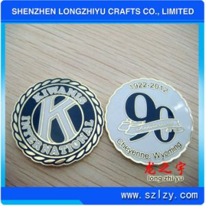 Soft Enamel Coin Commemorative Coins Anniversary Coin (LZY082) pictures & photos