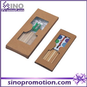 Pencil Set with Ruler Sharpener Wooden Pencil Set for Kid pictures & photos