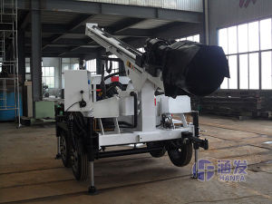 Home Use Trailer Drilling Rig for Water Well, Mud Pump Rotary Drilling and Air DTH Drilling pictures & photos