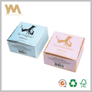 Export Perfume Cosmetics Paper Packing Box with Silver Gold Stamping pictures & photos