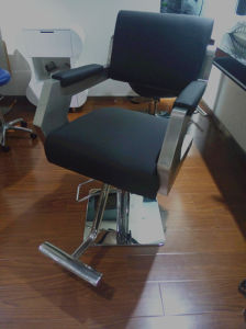 Stainless Steel Hair Salon Styling Chair Hairdressing Chair (MY-007-61L) pictures & photos
