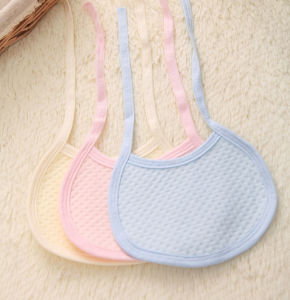 Cheap Cotton Baby Bib with Lacing Made From China pictures & photos
