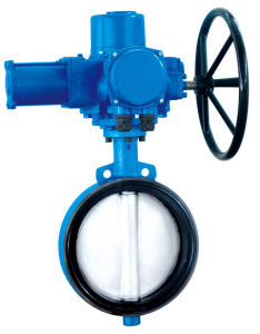 Sell Electric Wafer Butterfly Valve