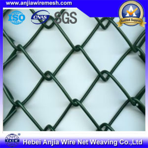 The PVC Coated Chain Link Wire Mesh Fence Gate pictures & photos