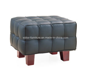 (SD-6003) Modern Hotel Restaurant Office Furniture Leather Sofa Set pictures & photos