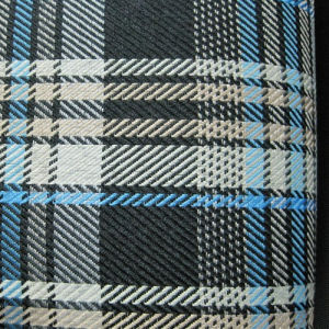 Oxford 600d Plaid Printing Polyester Fabric (XL-X102) pictures & photos