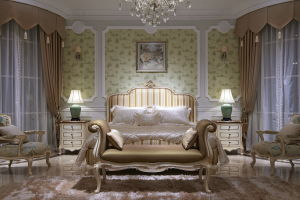 Classical Wooden Bedroom Furnuture-Ypl-A8001d-2 Bed