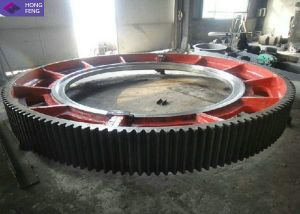 Good Quality Forged Mechanical Rotating Gear Ring pictures & photos