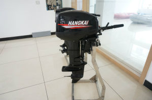 Strong Powerful Hangkai 9.9HP Water Cooled 2 Stroke Outboard Motor pictures & photos