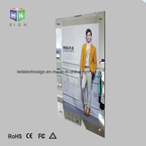 Cloth Store Advertising Display with Picture Frame LED Light Box pictures & photos