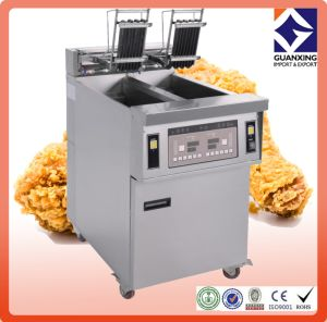 Hot Sale Kitchen Equipment Continuous Donut/Potato Prices Open Fryer/Restaurant Cooking Open Fryer pictures & photos