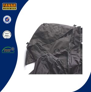Polyester Oxford Black Waterproof Coverall Workwear pictures & photos