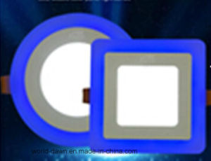 2 Colours Panel (Blue Edge) LED Panel Light pictures & photos