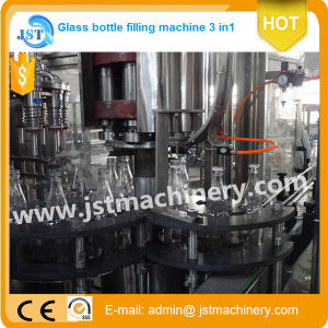 Complete Automatic Glass Bottle Juice Filling Production Machine pictures & photos