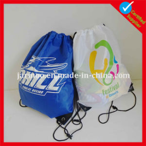 Football Soccer Sports Club Drawstring Nylon Bag pictures & photos
