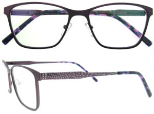 China New Model Eyewear Frame Glasses Latest Optical Frames pictures & photos