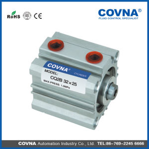 Cq2b Sq Series Double Action Type Impact Pneumatic Cylinder