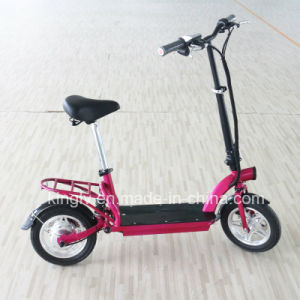 "2016 Newest 12"" Foldable Electric Bike with 300W Brushless Motor pictures & photos"