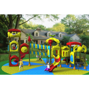 Outdoor Playground--Small Earth Guard Series, Children Outdoor Slide (XYH-MH017) pictures & photos