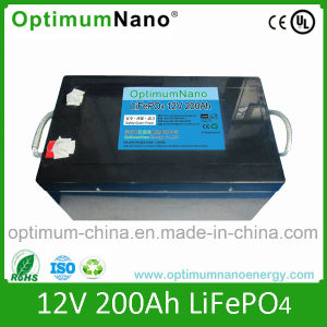 12V 200ah High Power LiFePO4 Battery Pack for Solar System pictures & photos
