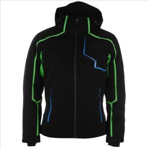 2016 Men′s Colorful Reflecetive Stripe Waterproof Ski Jacket pictures & photos