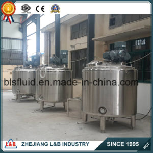 Milk Lotion Steam Homogenizer Mixer for Sale pictures & photos