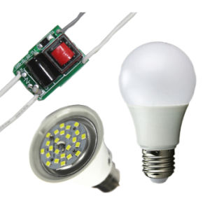Constant Current IC Designed LED Bulb Driver for SKD/Accessories pictures & photos