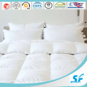 Soft Feeling White Goose Down Comforter Bedding Set for Hotel pictures & photos