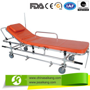 Hospital Hydraulic Emergency Stretcher for Ambulance pictures & photos