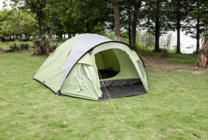 2-3 Persons Double Layer Outdoor Camping Tent (ECT003) pictures & photos