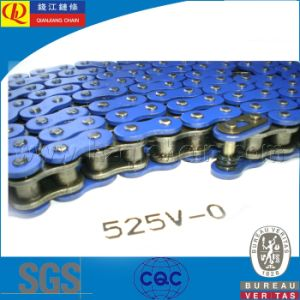 525V Standard O-Ring Motorcycle Chain with Blue Plates pictures & photos