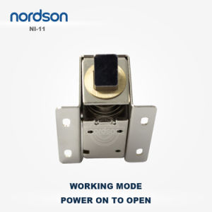 Professional Design Simple Installation Electric Cabinet Lock pictures & photos