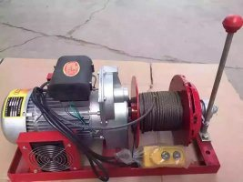 Stationary Electric Winch Could Work Continuously